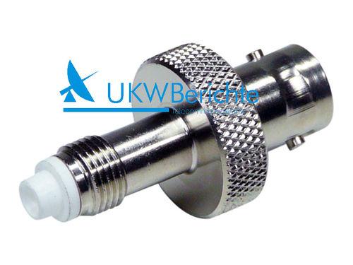Bekannt BNC-Adapter / BNC Adaptors - UKW-Berichte XX93
