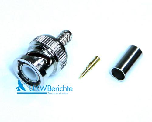 bnc stecker f r kabel aircell 5 crimp der online shop von ukw berichte. Black Bedroom Furniture Sets. Home Design Ideas