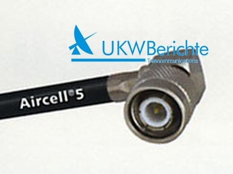 TNC-Winkelstecker AIRCELL-5, RG 58, crimp