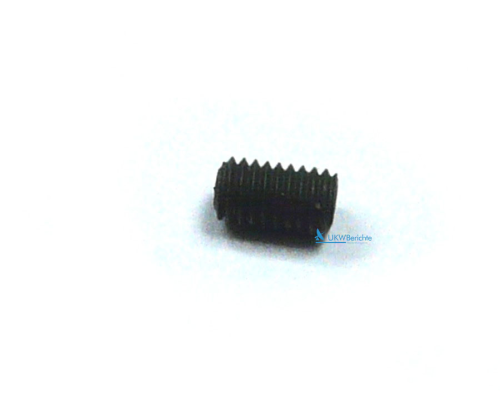 Gear stopper screw